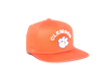 Clemson University Classic Retro Snapback Hat - Orange