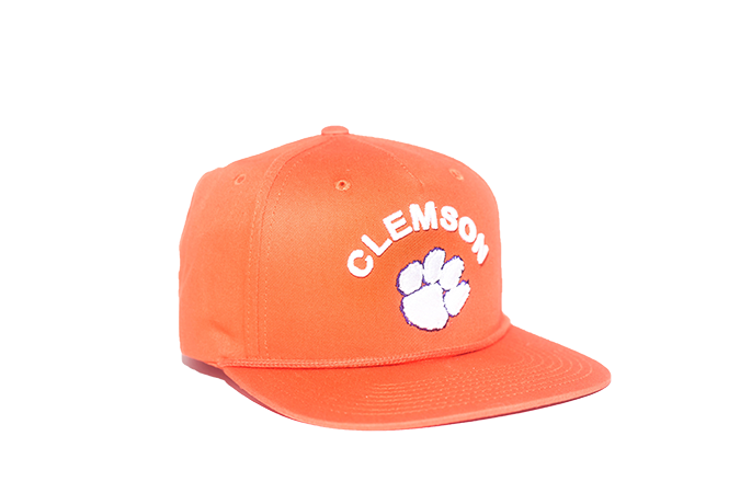 519342b24034 Clemson University Classic Retro Snapback Hat - Orange – The Collegiate  Player