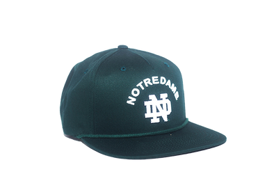 University of Notre Dame Classic Retro Snapback Hat – Pantone