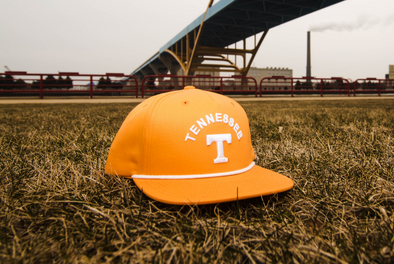 University of Tennessee Classic Retro Snapback Hat - Orange