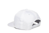 University Of North Carolina Classic Retro Snapback Hat - White