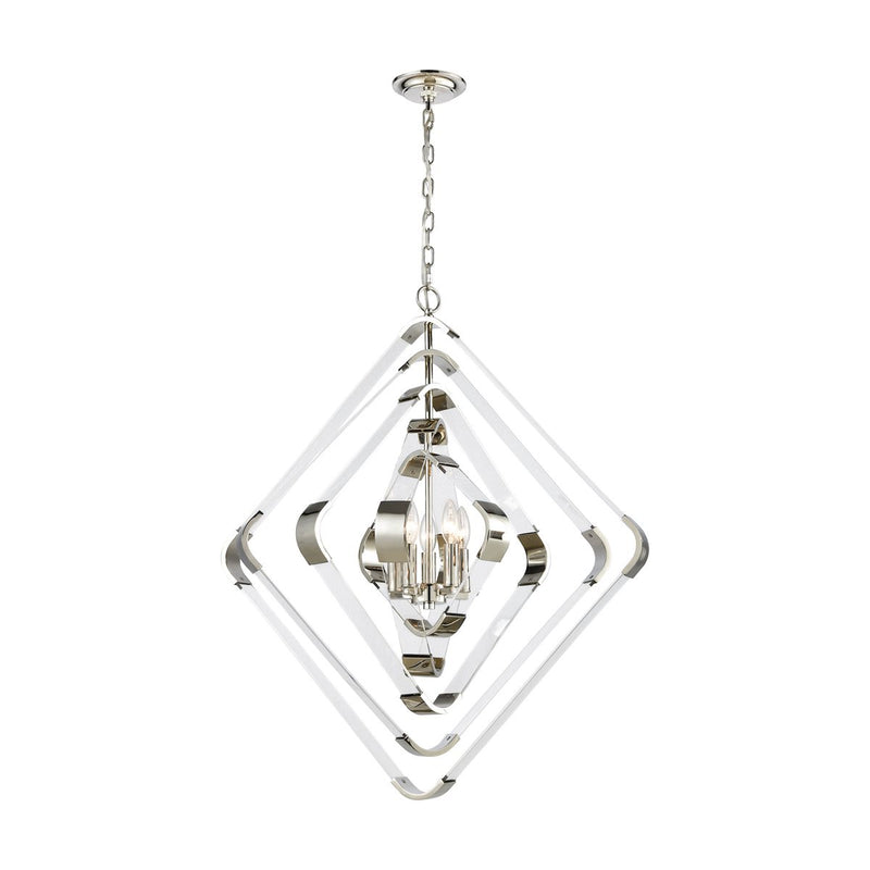 RAPID PULSE 5-LIGHT CHANDELIER