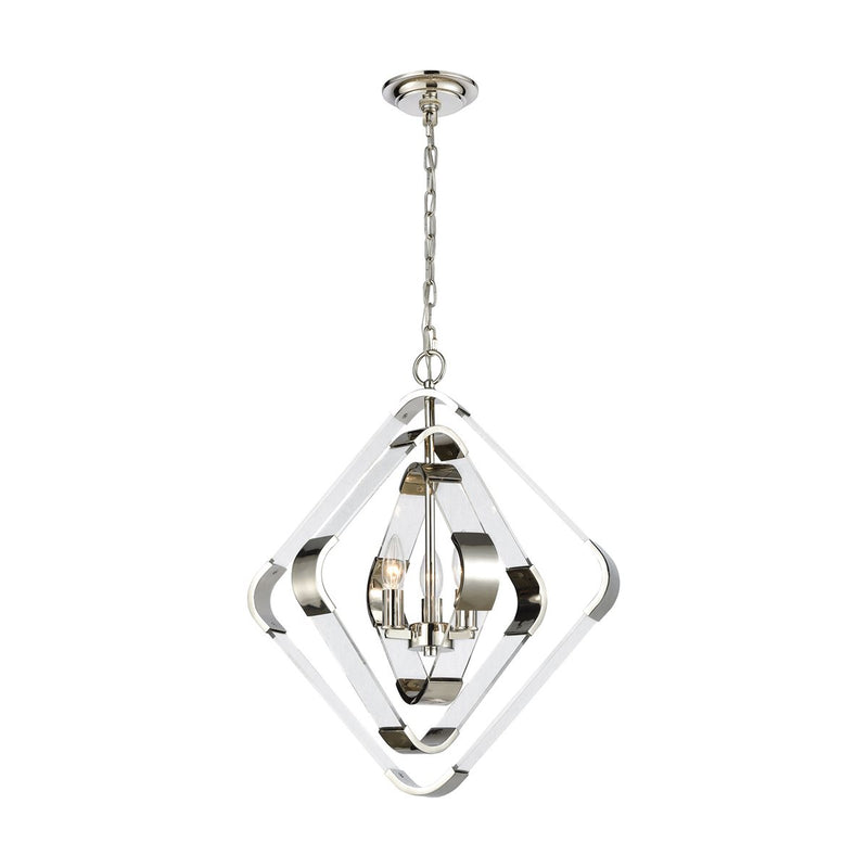 RAPID PULSE 3-LIGHT CHANDELIER
