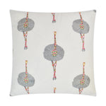 Ruffles and Feathers Pillow