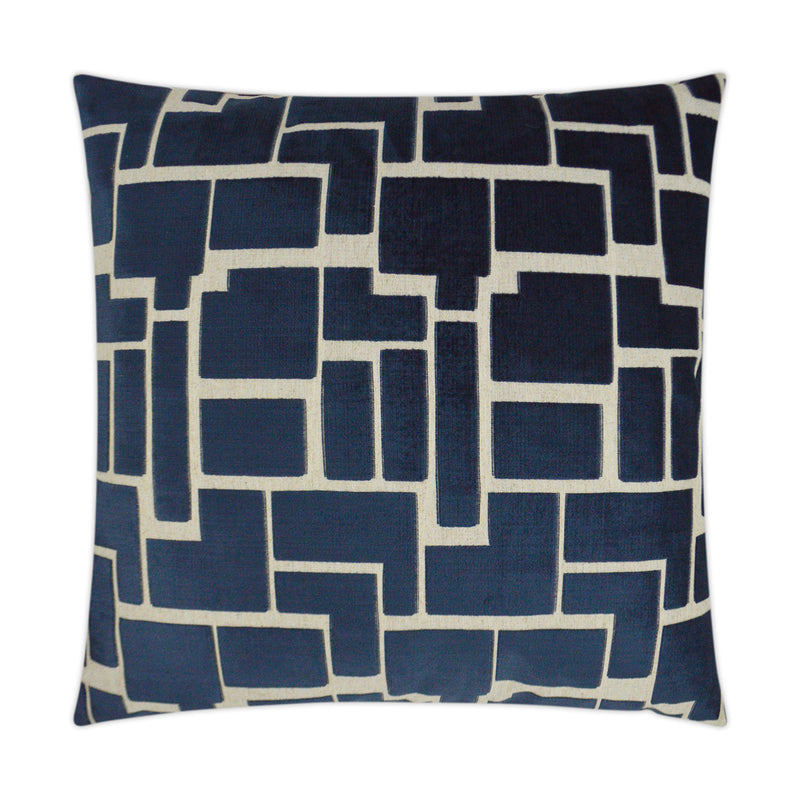 Aura-Navy Pillow