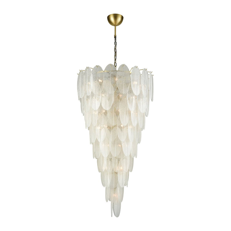 HUSH 42-LIGHT CHANDELIER