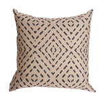 Diamond Back Pillow - Taupe