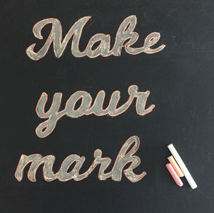 Custom Blackboard Decal