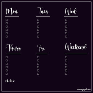 Instant Chalkboard To Do List