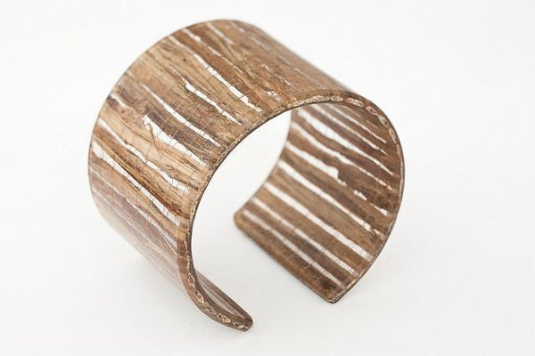 Banana Fibre Cuff - Wide