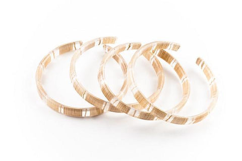 Banana Fibre Light Bangle