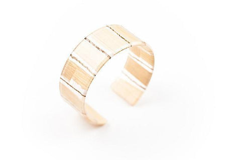 Banana Fibre Light Cuff - Narrow