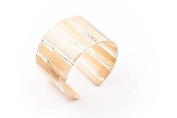 Banana Fibre Light Cuff - Wide