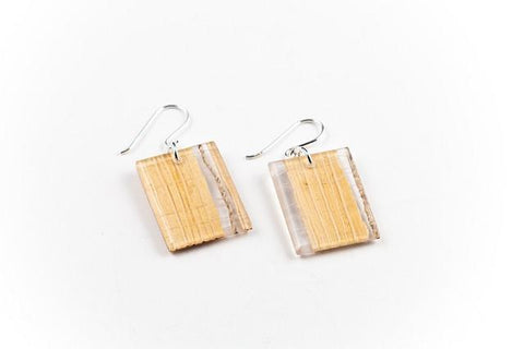 Banana Fibre Light Earrings - Regular