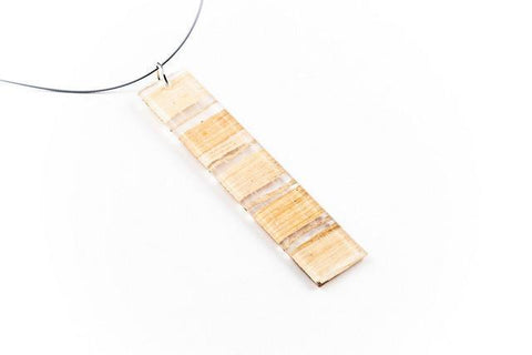 Banana Fibre Light Necklace - Long