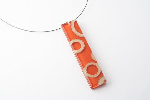 Bamboo Rings Mesa Necklace - Long