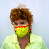 Cloth Mask- Chartreuse