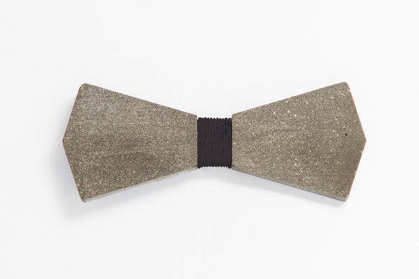 Concrete Bow Tie - Arrow - Black