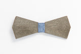 Concrete Bow Tie - Arrow - Grey