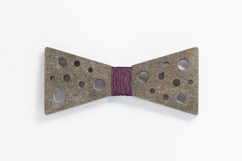 Concrete Bow Tie - SuperStar - Purple