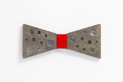 Concrete Bow Tie - SuperStar - Red