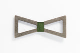 Concrete Bow Tie - Verge - Army Green