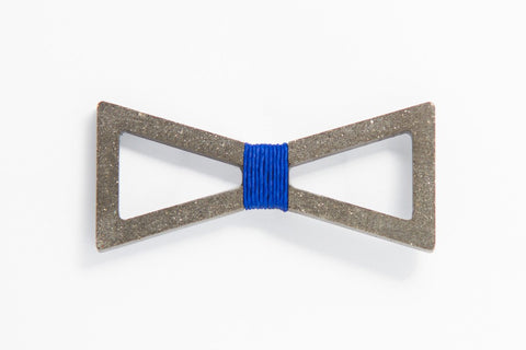 Concrete Bow Tie - Verge - Blue