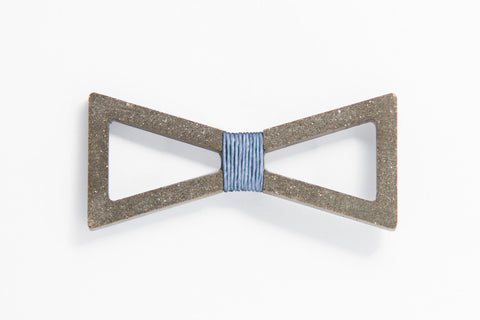 Concrete Bow Tie - Verge - Grey