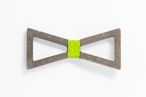 Concrete Bow Tie - Verge - Light Green