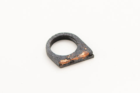 Concrete Fractured Ring - Offset - Copper