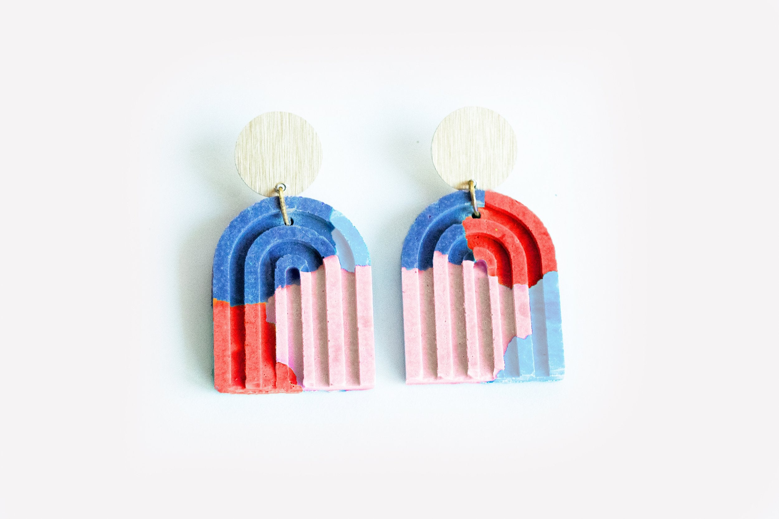 Arch Earrings - Candy Shop