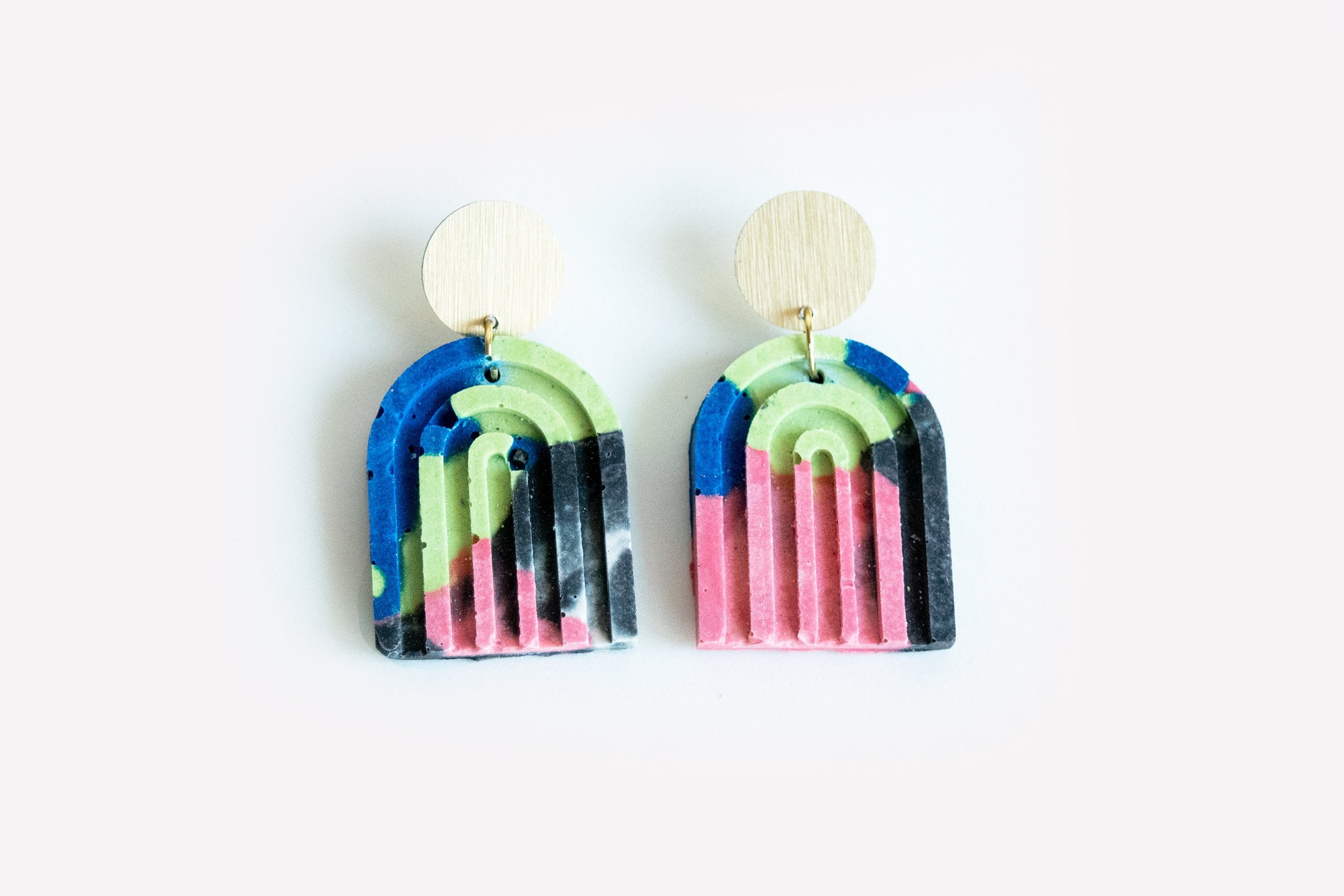 Arch Earrings - Party