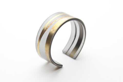 Electra Gold Cuff - Narrow