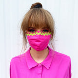 Cloth Mask- Fuschia