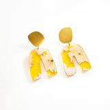 Fleur Vitamin C Earrings - Fluid Curve
