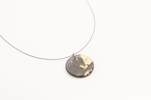 Gild Gold Necklace - Circle