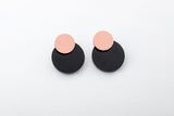 Ink Earrings - Disc Stud