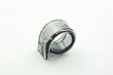 Lasso Natural Black Ring