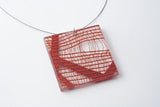 Migration Connection Necklace - Lrg Square