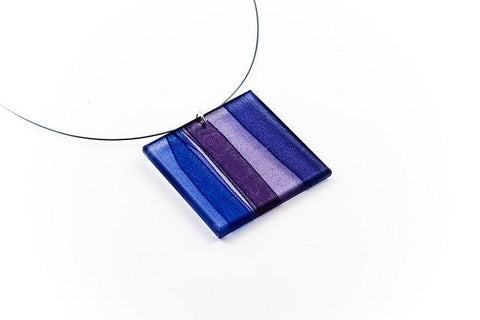 Mirage Twilight Necklace - Lrg Square