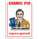 Mr Rogers Pin