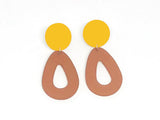 Ecoresin Earrings - Drop - Small