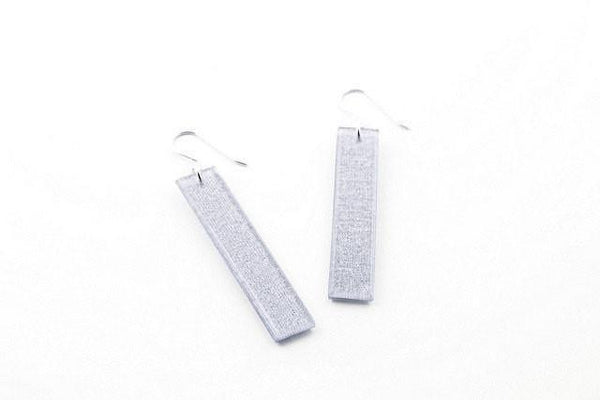 Pure Silver Earrings - Long