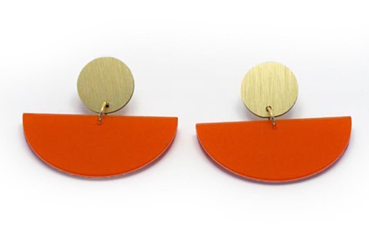 Ecoresin Earrings - Bonita