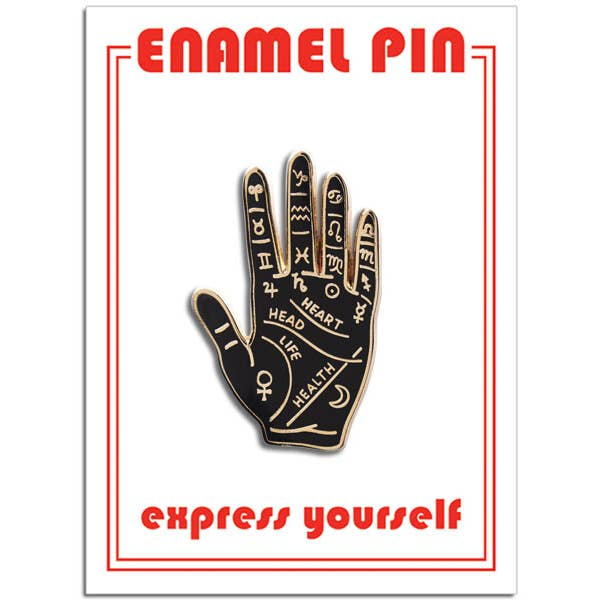 Palm Reading pin
