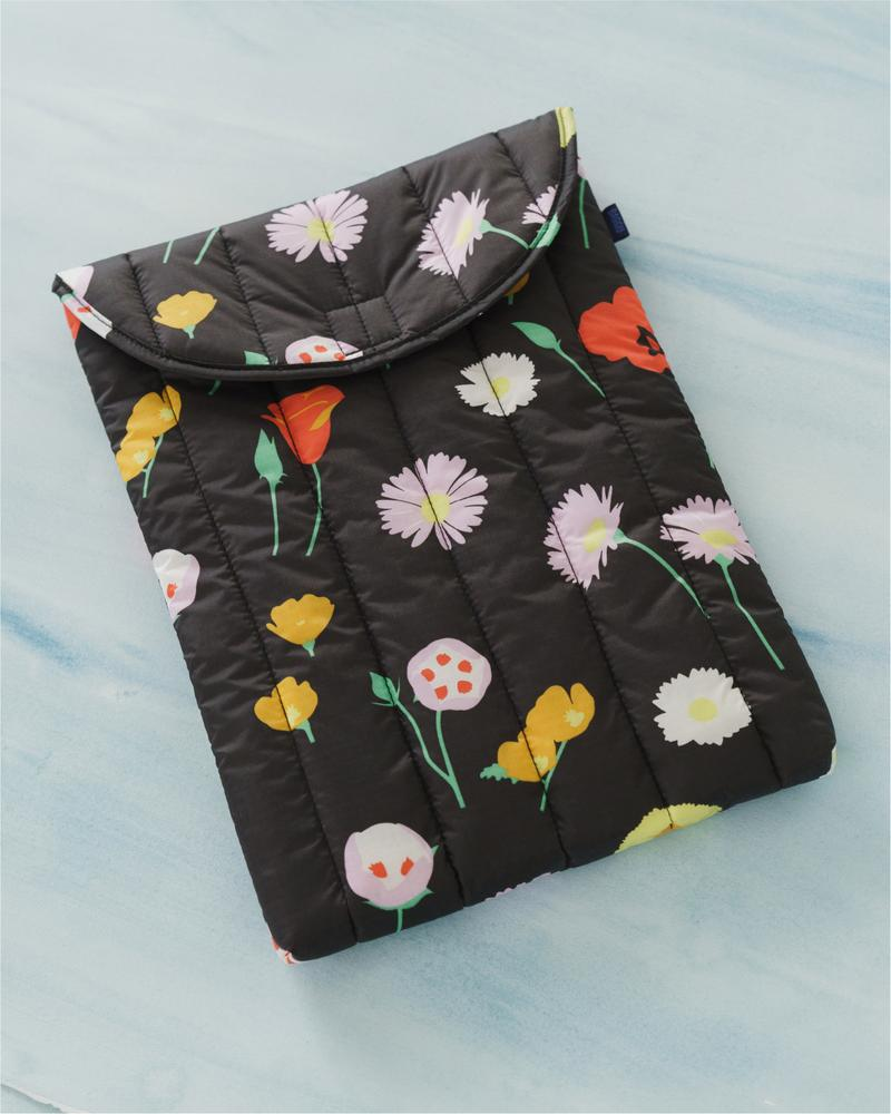 Desert Wildflower -Puffy Laptop Sleeve 16""
