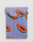 baggu Blue Papaya -Puffy Laptop Sleeve 16""