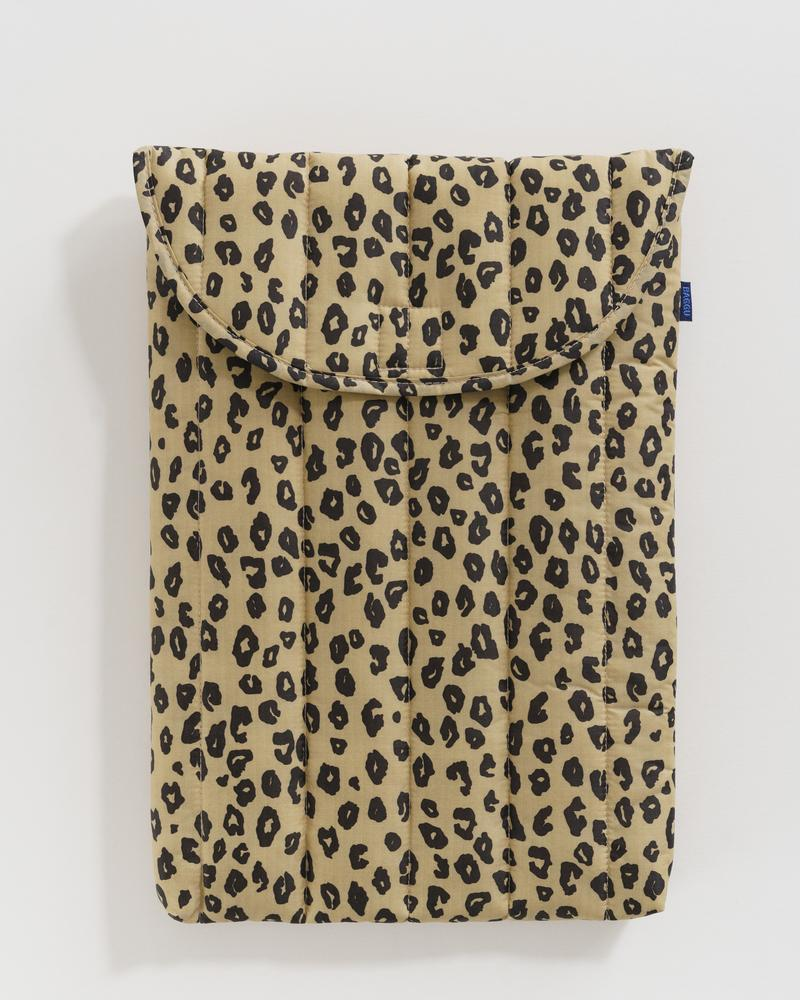 Honey Leopard -Puffy Laptop Sleeve 16""