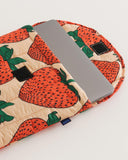 baggu Strawberry -Puffy Laptop Sleeve 16""
