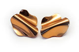 Reflect Copper Earrings - Flow Large Stud